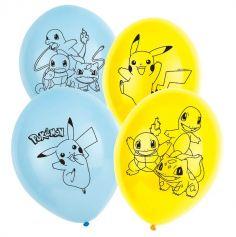 pokemon-ballon-pikachu-anniversaire | jourdefete.com
