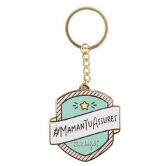 Porte-Clés - Maman Tu Assures - Mr. Wonderful | jourdefete.com