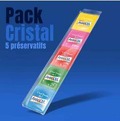 Pack de 5 préservatifs Apéricul