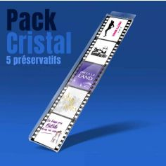 Pack de 5 préservatifs Cinéma