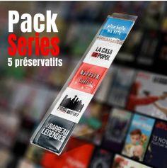 Pack de 5 préservatifs Séries TV