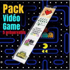 Pack de 5 préservatifs Jeux Vidéo