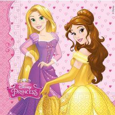 serviettes-disney-princesses-anniversaire | jourdefete.com