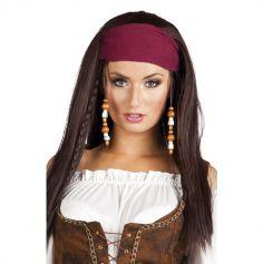 Perruque de Femme Pirate