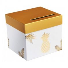 urne-ananas-gold-tirelire | jourdefete.com