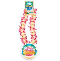collier-fleurs-hawai-retraite | jourdefete.com