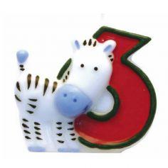 Bougie-Chiffre Safari – 6