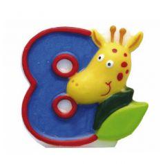 Bougie-Chiffre Safari – 8
