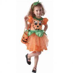 deguisement-robe-citrouille-fille-halloween | jourdefete.com