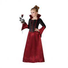 Robe de Vampiresse pour fille - Taille au Choix