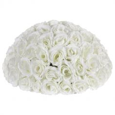 centre-table-bouquet-roses-blanc|jourdefete.com