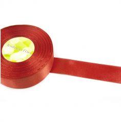 Ruban en Satin 25 mm - Rouge