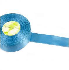 Ruban en Satin 25 mm - Turquoise