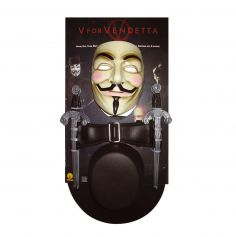 """Kit d'accessoires """"V pour Vendetta"""""""