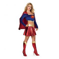 Déguisement Femme Super Girl de Luxe