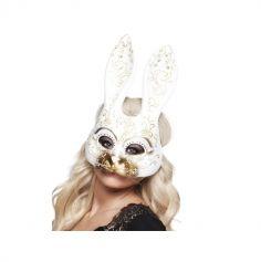 Demi-Masque Venitien Lapin