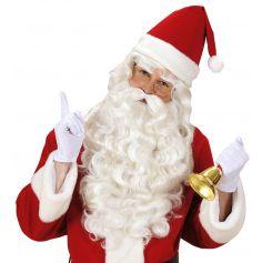 Perruque, Barbe et Moustache du Père Noël Luxe