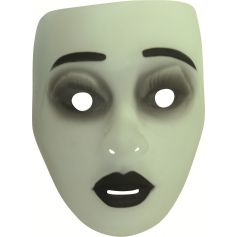 Masque d'Halloween Phosphorescent Femme