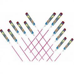 Sachet de 12 Fusées Sifflantes Multicolores | JOURDEFETE.COM