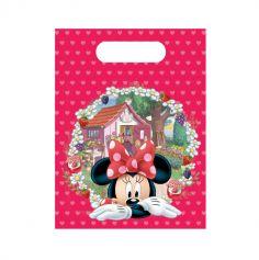 6 sacs cadeaux Minnie Mouse