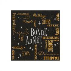 serviettes-papier-bonne-annee-decoration-table   jourdefete.com