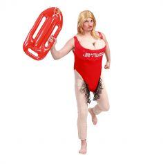 déguisement de sauveteur de plage Pamela pour homme | jourdefete.com