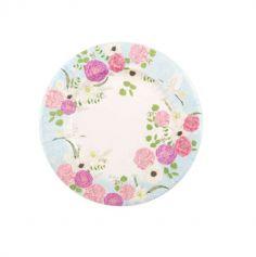 assiettes-secret-garden-fleurs|jourdefete.com