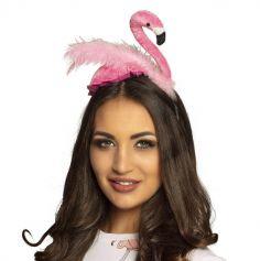 serre-tete-accessoire-flamingo-flamant-rose | jourdefete.com