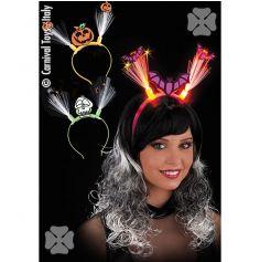 Serre tête Halloween Clignotant - Modèle au Choix