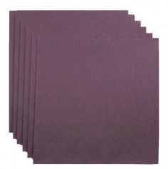 100 Serviettes Ouate de Cellulose - Prune