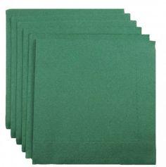 100 Serviettes Ouate de Cellulose - Vert Sapin