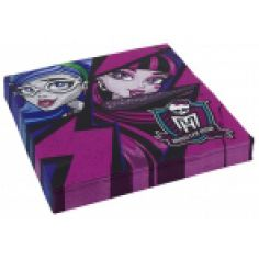 Serviettes Anniversaire Monster High