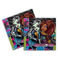 Serviettes Monster High