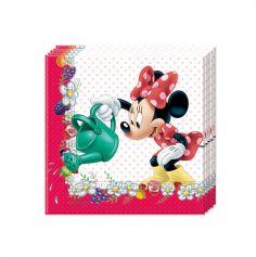 20 Serviettes Minnie Mouse