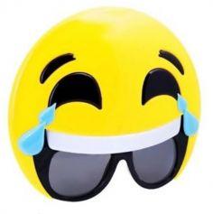 Lunettes de Soleil Emoji Mort de Rire - Adulte
