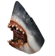 Masque Intégral en Latex Requin - Les Dents de la Mer ©