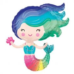 sirene-multicolore-mermaid-mer | jourdefete.com