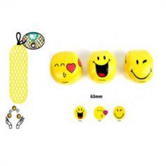 3 Balles à Jongler - Collection Smiley - 6,3 cm