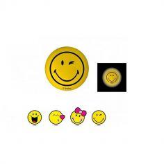 Balle Lumineuse Collection Smiley - 5,5 cm - Modèle Aléatoire
