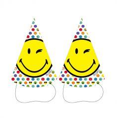chapeaux-pointus-smiley-world | jourdefete.com