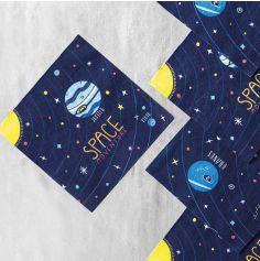 20 Serviettes - Space Party