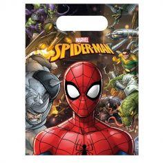 sacs-pochettes-cadeaux-bonbons-spiderman-mavel | jourdefete.com