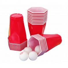 Square Cup - Beer Pong Kit