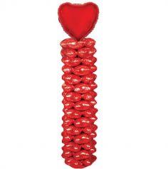 colonne-ballons-coeur-amour-saint-valentin | jourdefete.com
