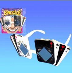 Lunettes Humoristique Poker Carré d'As