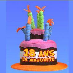 Chapeau Anniversaire Musical 18 ans