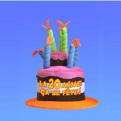 Chapeau Anniversaire Musical 20 ans