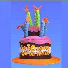 Chapeau Anniversaire Musical 30 ans