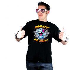 """T-Shirt Humoristique """"Mort de Soif"""""""