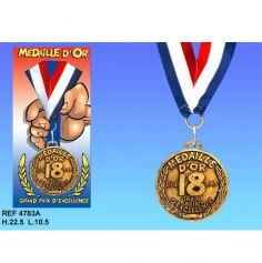 Médaille d'Or Anniversaire 18 ans